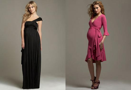 affdd384c Look para embarazadas! Mira que divinos estos vestidos para una fiesta de  noche!