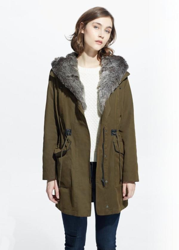 abrigos-mujer-otono-invierno-2015-2016-abrigo-militar-estilo-parka-mango-600x839
