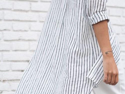 Camisa extra larga, 3 tips para usar esta prenda tendencia.