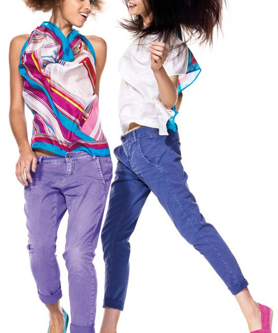 Pantalones de colores!