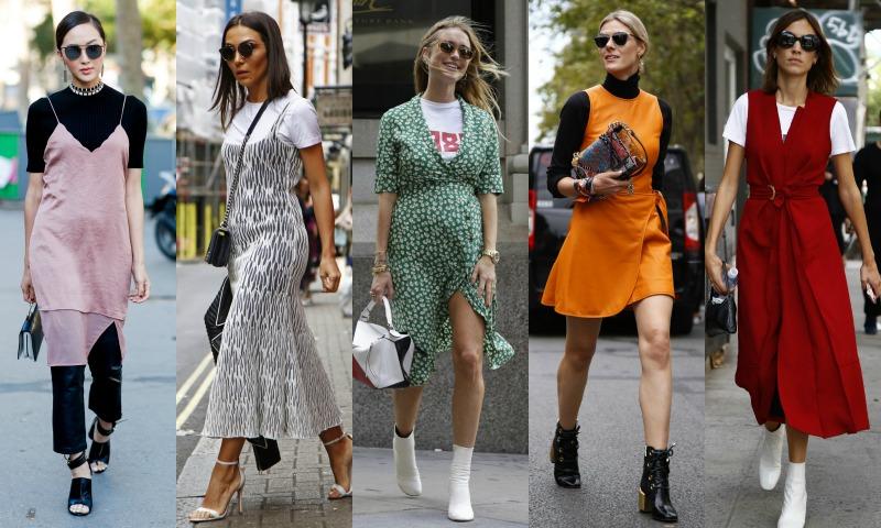 3 consejos para usar vestidos en otoño